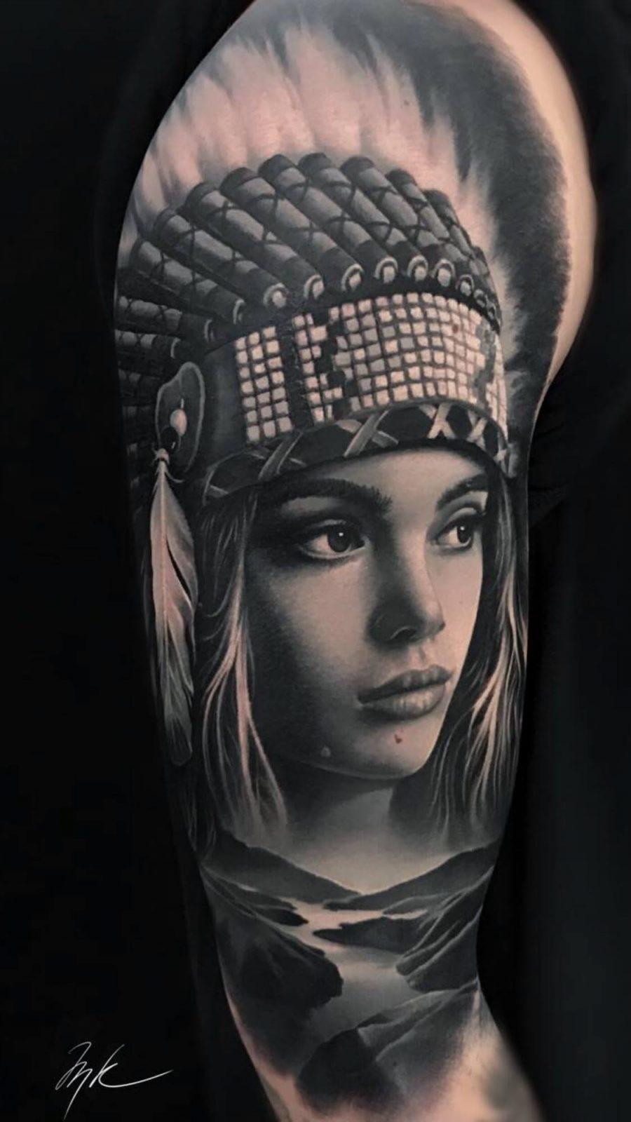 Realistische Tattoos • Skull Tattoos nähe Frankfurt