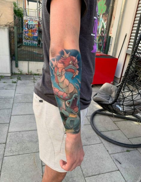 Color Tattoo Pokemons
