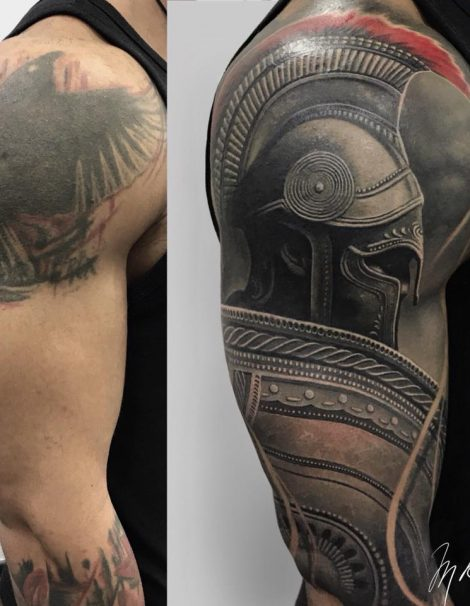 Spartiaten 300 Cover Up Tattoo
