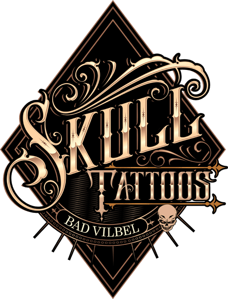 Skull Tattoo Logo aus Frankfurt am Main